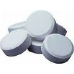 Small dispenser with 10x20g chlorine tablets