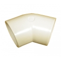 10x 1.5in 45 Deg Elbow White