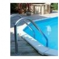 Stainless Steel Swimming Pool Deck Ladder