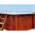 Plastica Eco Wooden Pool 7.2meters x 5 meters