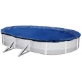Above Ground Pool Winter Debris Cover for 32x16ft Oval Pool