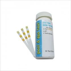 Swimming pool 3 way test strips
