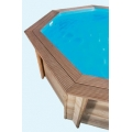 Spruce Timberpool 6,40X4,0m Stretched Octagonal