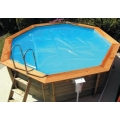 Wooden Pool Solar Cover 4m